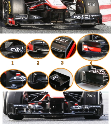 Marussia MR02 FW Barcelona March 1